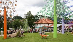 Einweihung des Riedlhütter Wald-Glas-Gartens