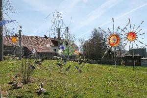 Die Entstehung des Wald-Glas-Gartens