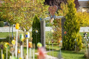 Rundgang durch den Wald-Glas-Garten